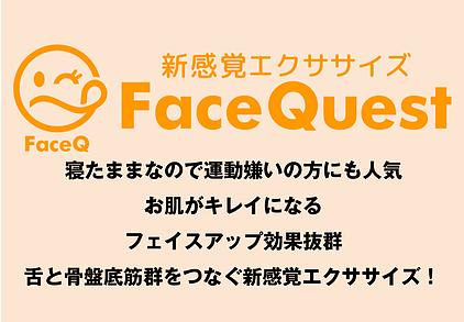 小顔フェイスアップFaceQuest